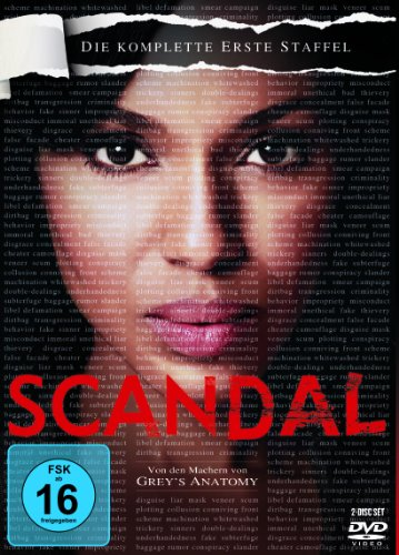 Scandal Staffel 1 (2 DVDs)