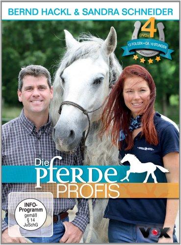 Die Pferdeprofis 4 DVDs