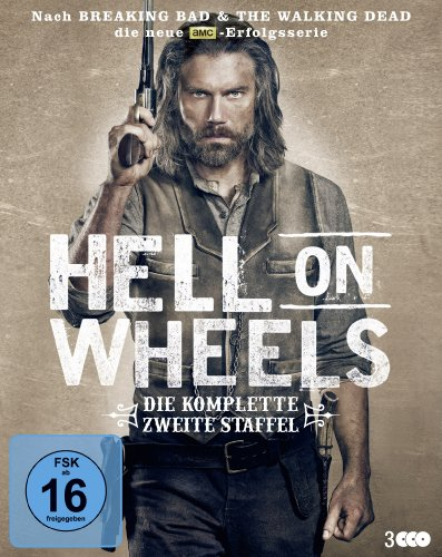 Hell on Wheels Staffel 2 [Blu-ray]