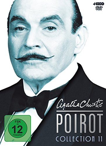 Agatha Christie - Poirot Collection 11 (4 DVDs)
