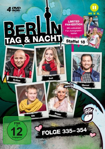 Berlin - Tag & Nacht, Vol. 18: Folgen 335-354 (Fan Edition) (4 DVDs)