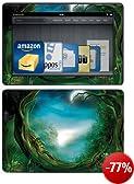 DecalGirl Skin-Kit für Kindle Fire HDX 8.9 (3. Generation - 2013 Modell), Moon Tree