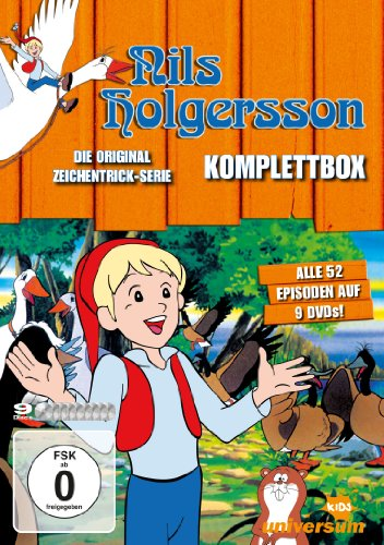 Nils Holgersson TV-Serien-Komplettbox (9 DVDs)