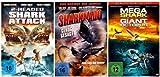 Die Hai-Collection (Sharknado / 2 Headed Shark Attack / Mega Shark vs Giant Octopus) (3 DVDs)