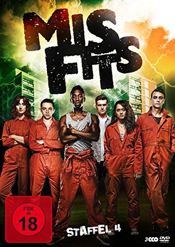 Misfits Staffel 4 (3 DVDs)