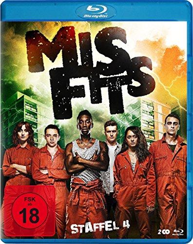 Misfits Staffel 4 [Blu-ray]