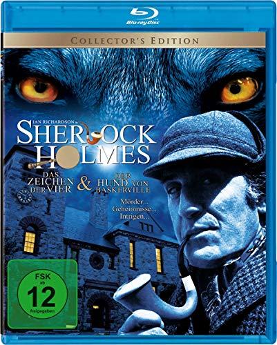 Sherlock Holmes: Das Zeichen der Vier & Der Hund von Baskerville [Blu-ray]