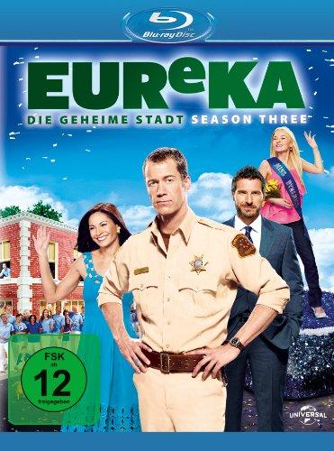 EUReKA - Die geheime Stadt, Staffel 3 [Blu-ray]