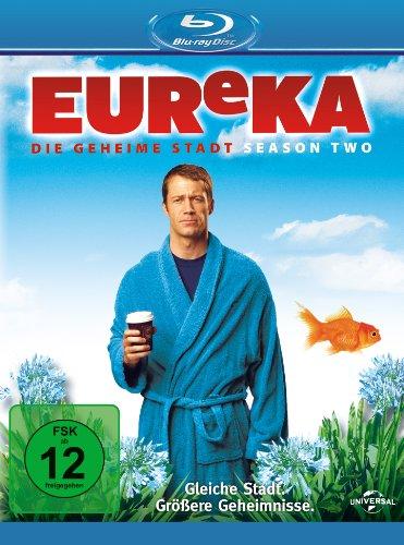 EUReKA - Die geheime Stadt, Staffel 2 [Blu-ray]