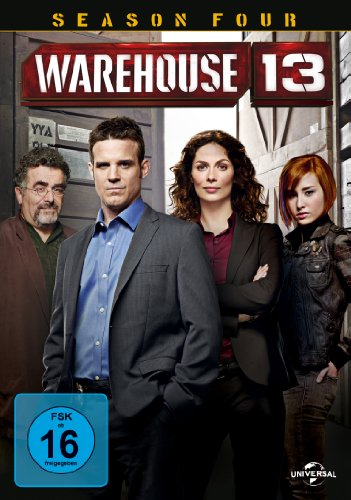 Warehouse 13 Season 4 (5 DVDs)