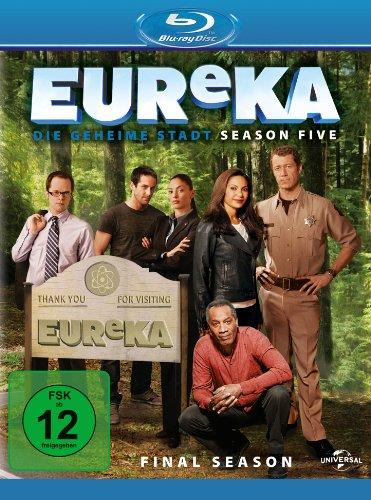 EUReKA - Die geheime Stadt, Staffel 5 [Blu-ray]