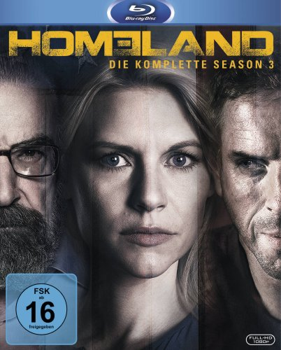 Homeland Season 3 [Blu-ray]