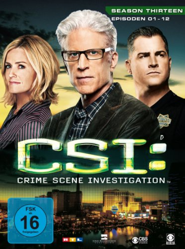 CSI Season 13 / Box-Set 1 (3 DVDs)