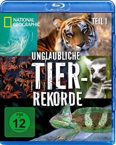 Unglaubliche Tier-Rekorde, Vol. 1 [Blu-ray]