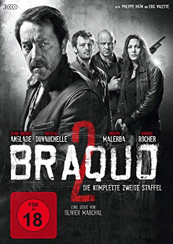 Braquo Series 1+2 [Blu-ray]