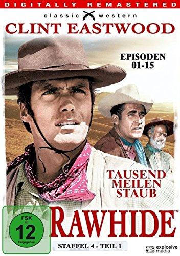 Rawhide Tausend Meilen Staub - Season 4.1 (4 DVDs)