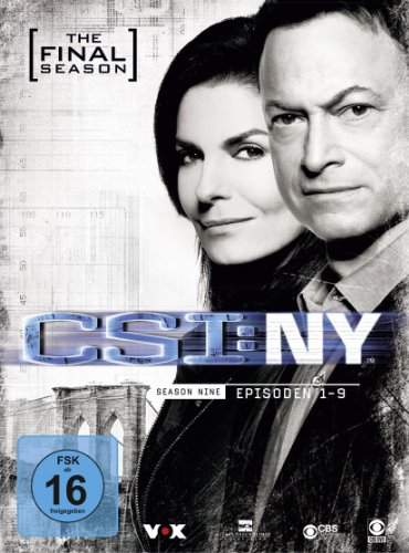 CSI: NY Season 9.1 (3 DVDs)