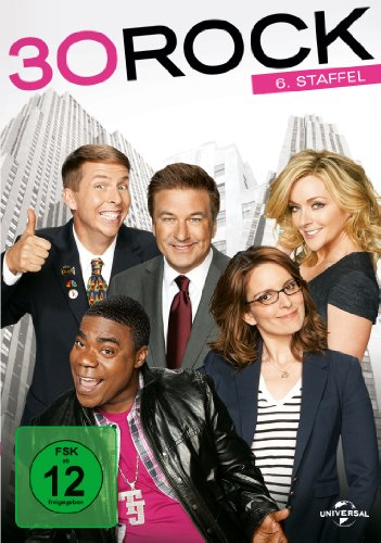 30 Rock Staffel 6 (3 DVDs)