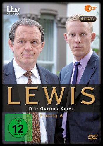 Lewis - Der Oxford Krimi Staffel 6 (4 DVDs)