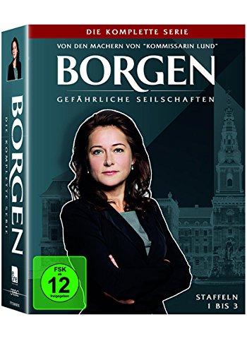 Borgen  /  Gefährliche Seilschaften Die komplette Serie (Limited Edition) (11 DVDs)