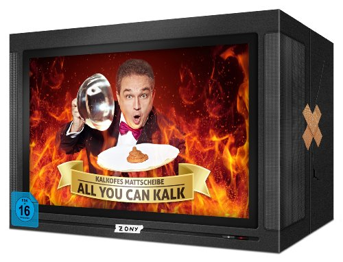 Kalkofes Mattscheibe All you can kalk/Die Megabox (38 DVDs)