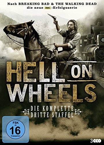 Hell on Wheels Staffel 3 (3 DVDs)