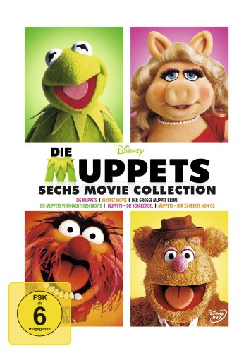 Die Muppets - 6 Movie Collection (6 DVDs)