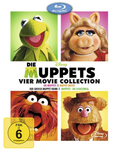 Die Muppets 4 Movie Collection [Blu-ray]