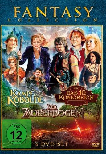 Fantasy Collection: Kampf der Kobolde/Das zehnte Königreich/Der Zauberbogen (6 DVDs)