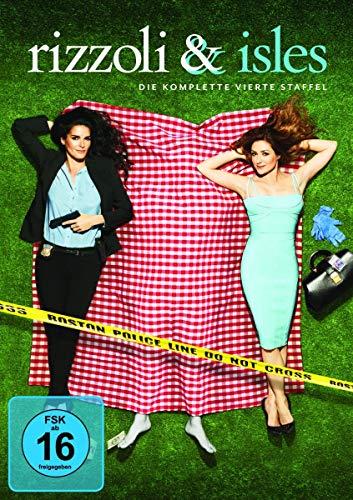 Rizzoli & Isles Staffel 4 (4 DVDs)