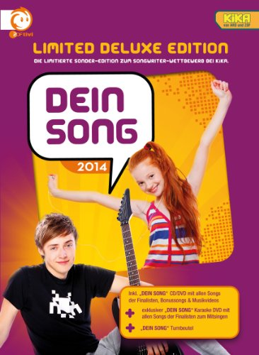 Dein Song 2014 (Limited Deluxe Edition) (CD + DVD)