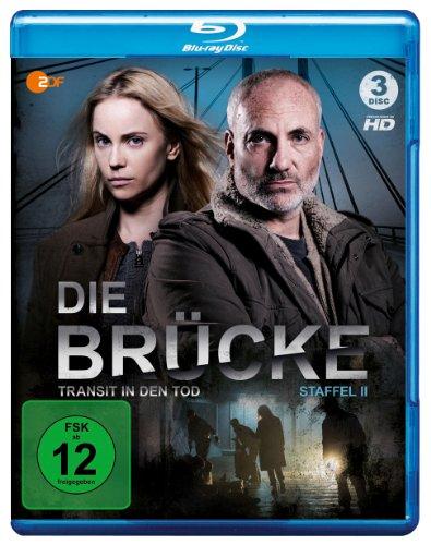 Die Brücke - Transit in den Tod: Staffel 2 [Blu-ray]