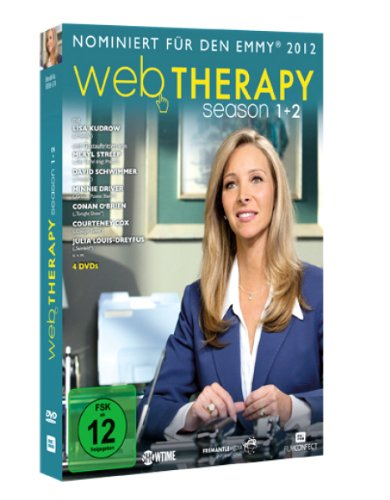 Web Therapy Season 1 & 2 (4 DVDs)