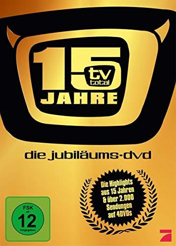 TV Total 15 Jahre Jubiläums Box (4 DVDs)