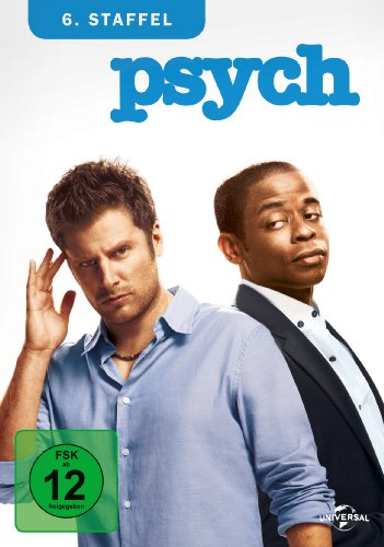 Psych Staffel 6 (4 DVDs)