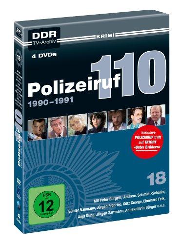 Polizeiruf 110 Box 18: 1990-1991 (DDR TV-Archiv) (4 DVDs)