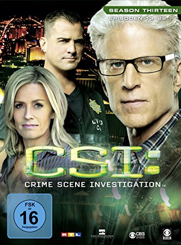 CSI Season 13 / Box-Set 2 (3 DVDs)