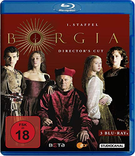 Borgia Staffel 1 (Director's Cut) [Blu-ray]