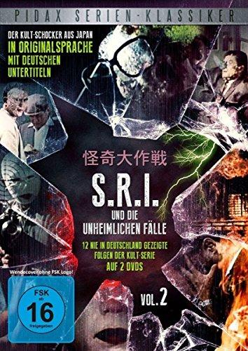 S.R.I. und die unheimlichen Fälle Vol. 2 (2 DVDs)