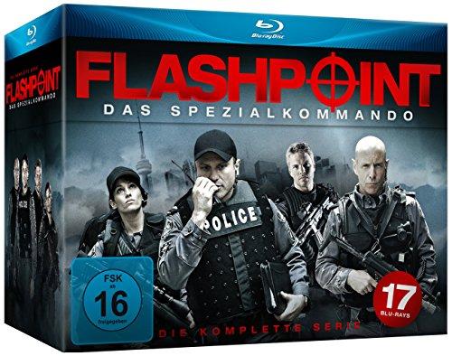 Flashpoint - Das Spezialkommando Die komplette Serie [Blu-ray]