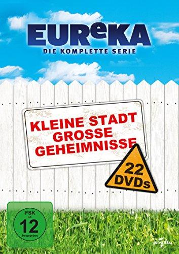EUReKA - Die geheime Stadt, Gesamtbox (22 DVDs)
