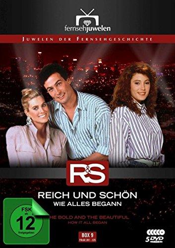 Reich und schön Wie alles begann: Box  9, Folgen 201-225 (5 DVDs)