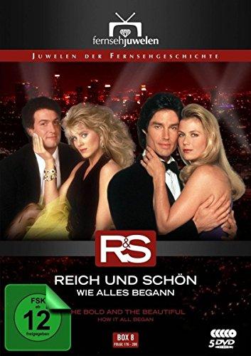 Reich und schön Wie alles begann: Box  8, Folgen 176-200 (5 DVDs)