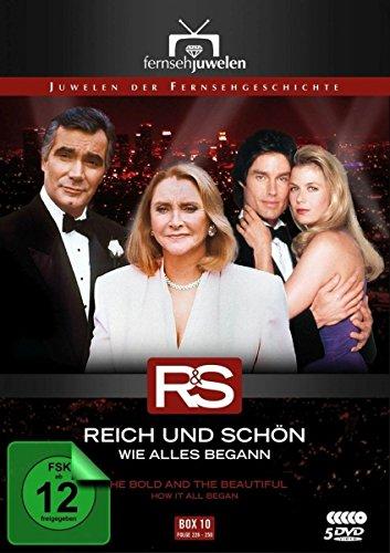 Reich und schön Wie alles begann: Box 10, Folgen 226-250 (5 DVDs)