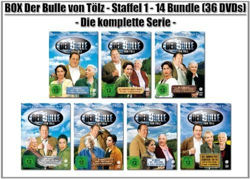 Der Bulle von Tölz Staffel 1-14 (36 DVDs)