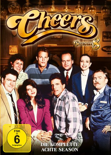 Cheers Season  8 (4 DVDs)