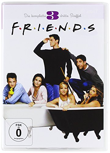 Friends Staffel  3 Box Set (4 DVDs)