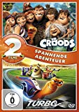 Die Croods / Turbo (2 DVDs)