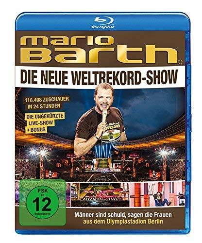 Mario Barth - Die Weltrekord-Show: Männer sind schuld, sagen die Frauen [Blu-ray]