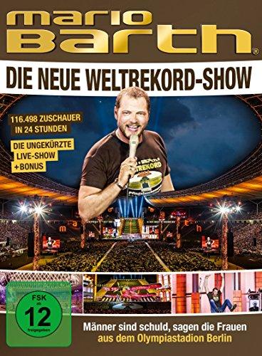 Mario Barth - Die neue Weltrekord-Show: Männer sind schuld, sagen die Frauen (2 DVDs)